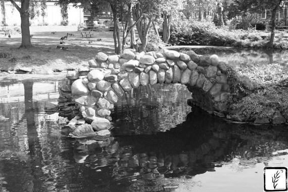 """Bridge to Nowhere, "" Heckscher Park, Huntington, New York, 2014."