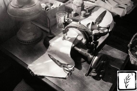 """Piecework,"" Tenement Museum, Manhattan, New York, 2015."