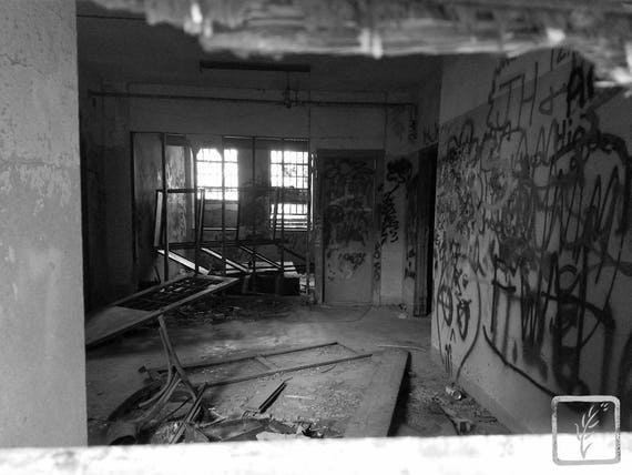 """""""Wreck Room,"""" Kings Park Psychiatric Hospital, Kings Park, New York, 2017."""