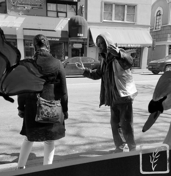 """Waiting for the Bus,"" Huntington, New York, 2017."