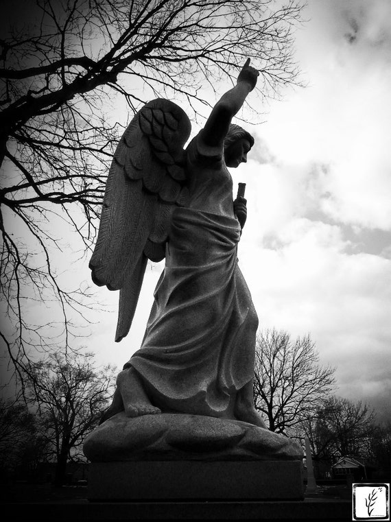 """""""Gabriel II,"""" Crown Hill Cemetery, Indianapolis, Indiana, 2013."""