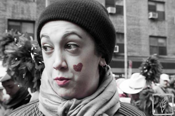 """Hearts,"" New York City Women's March, 2017."