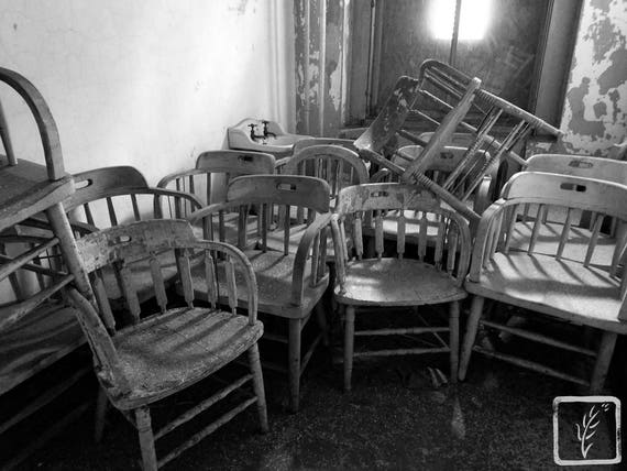 """""""Stacked,"""" Ellis Island Immigrant Hospital, New Jersey, 2017."""
