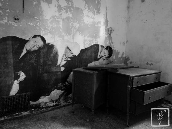 """""""Exhaustion,"""" Ellis Island Immigrant Hospital, New Jersey, 2017."""