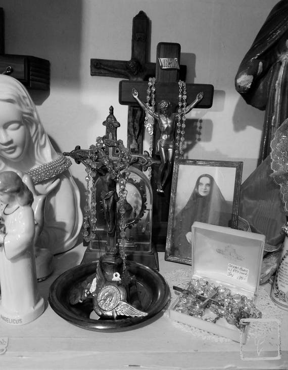 """Idol Worship,"" Rosie's Vintage, Huntington, New York, 2017."