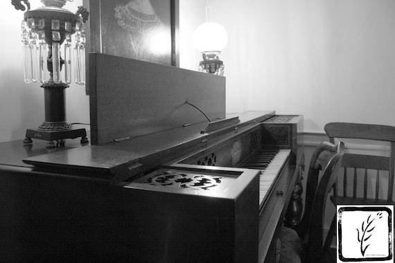 """""""Klavier,"""" Conklin House Museum, Huntington New York, 2015."""