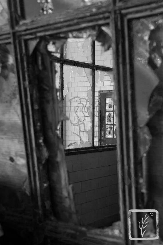 """Breaking Through,"" Kings Park Psychiatric Hospital, Kings Park, New York, 2017."