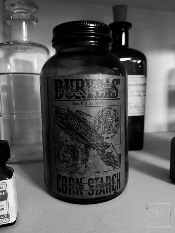 """Burylas Corn Starch,"" Rosie's Vintage, Huntington, New York, 2017."