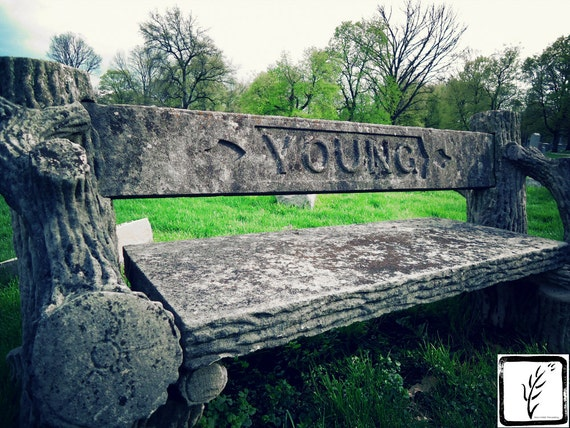 """""""Forever Young,"""" Crown Hill Cemetery, Indianapolis, Indiana, 2013."""