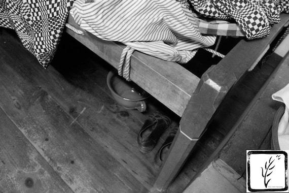 """""""Under the Bed,"""" Conklin House, Huntington NY, 2015."""