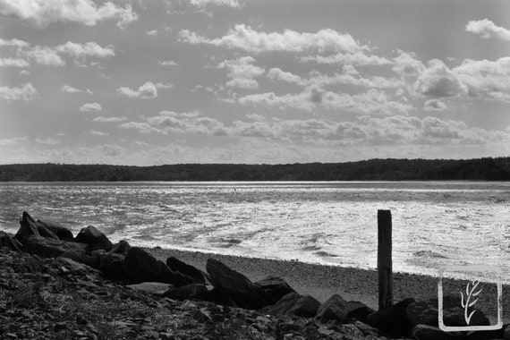 """Choppy Harbor,"" Lloyd Harbor, Long Island, New York, 2015."