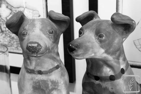 """Clay Dogs,"" Ben's Garden, Huntington, New York, 2017."