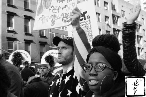 """Heroes,"" New York City Women's March, 2017."