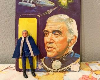 1978 Battlestar Galactica Commander Adama Figure *Loose