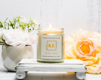 MELLOW MOOD Relaxing Soy Candle, Gift for Mom by Kindred Essence