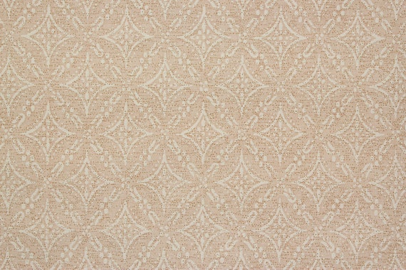 1920s Vintage Wallpaper White Diamond Pattern With Gold Metallic By The Yard Made In England
