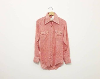 1970s Wrangler Pearl-Snap Western Shirt
