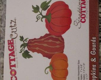 Cottage Cutz, Pumpkins and Gourds Die