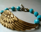 Brass Solo Flight Bracelet- Customize your Swarovski Crystal Color