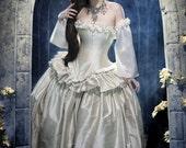 "Unique Wedding Dress Fantasy Gown - Alternative Bridal Masquerade Costume - Renaissance dress - "" Cinderella Wedding Dress "" -  Custom Order"