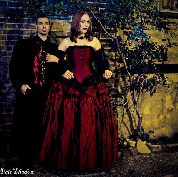 2017 Gothic Wedding Dresses Halloween Victorian Bridal: Items Similar To Halloween Wedding Dress