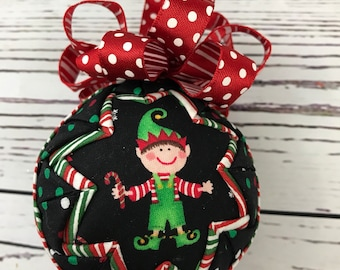 Jolly Elf Christmas Holiday ornament
