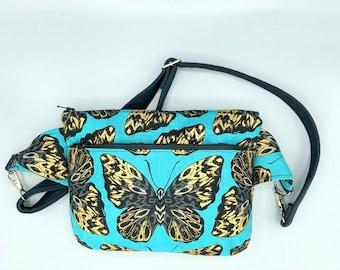 Butterfly Fanny Pack for Women - Metallic Butterflies - Hip Bag - Cross  Body Bag - Gifts for Women