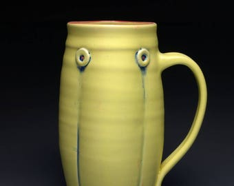 Yellow  22 ounce Stein