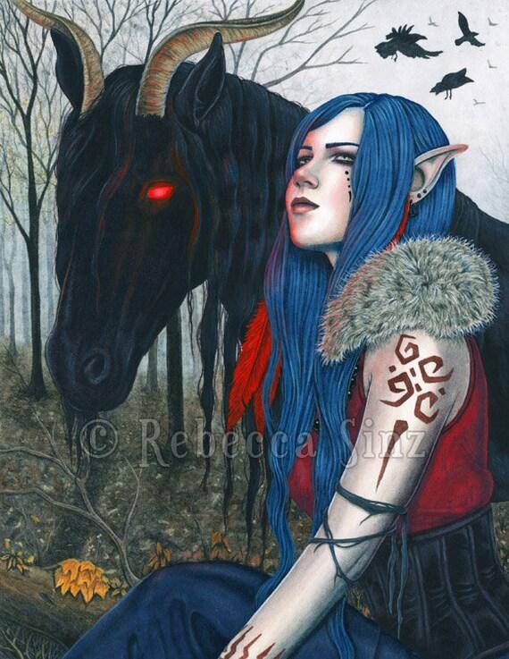 Fantasy Art Female Elf