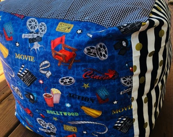 Floor pillow, floor cushion, pillow, cushion, pouf, bean bag, giant pillow, giant cushion, large pillow, Theater, gaming, gaming pillow