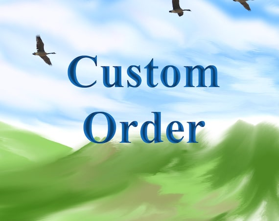 Custom Order Listing, Custom changes to design,color or fabric