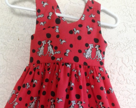 Disney 101 Dalmation Dress ,Disney Birthd ,Toddler Disney, Free Shipping