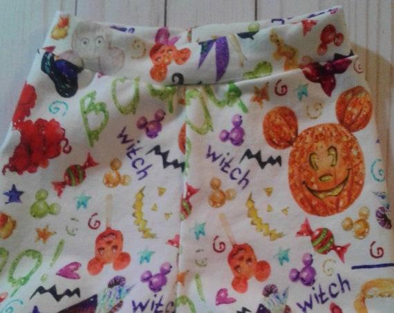 Disney Halloween Bummie shorties, Disney Fashions, Knit Bummies