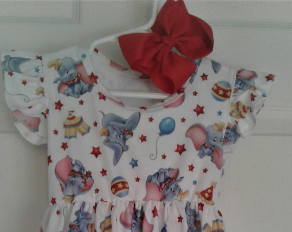 Disney Dumbo Dress, Elephant Dress, Disney Character dress, Disney Vacation