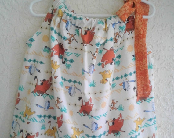 Lion King Dress,Handmade  Disney Dress, Simba and friends Sundress, Toddler dress, Infant , Disney Vacation dress, Animal Kingdom Visit