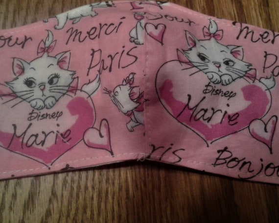 Face Masks,Handmade fabric face mask,Aristocats mask, Disney Inspired Face mask,  Children's face mask, Size 3-6 years, Ready to ship