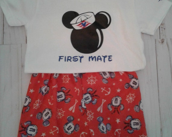 Disney Boys Shorts set, Unisex,Nautical shorts set, Disney Cruise, Disney Parks