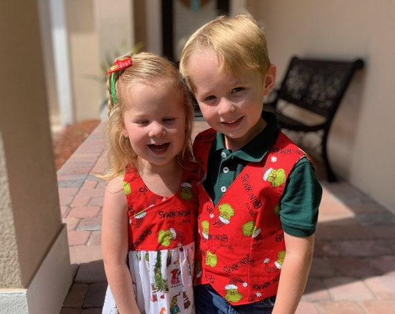 Kids Matching Christmas outfits