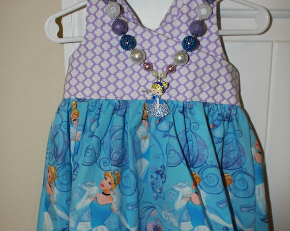 Cinderella Dress Girls Party Dress, Disney Parks, Disney Vacation,Baby Dress, Toddler Dress, Princess Birthday