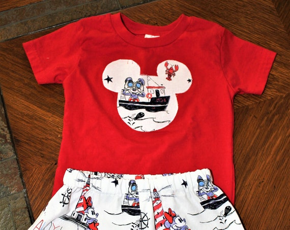 Disney Shorts Set, Baby, Toddler, Disney Cruise, Disney Vacation, Disney  Parks, Free Shipping, Personalization