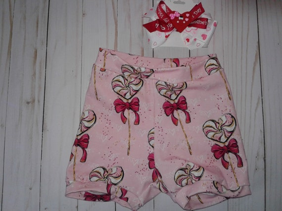 Valentines's day Bummies, Red Heart Pops Bummies, Diaper covers
