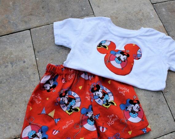 Disney Shorts Set, Baby, Toddler, Disney Cruise, Disney Vacation, Disney  Parks, Free Shipping
