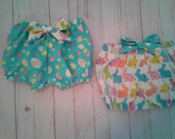 Easter Bloomers, Baby Girl bloomers, Toddler bloomers
