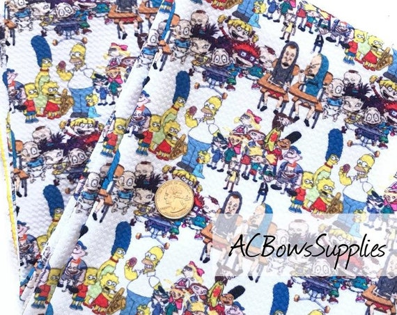 Cartoon Shorties , Simpsons Bummies, Bullet knit