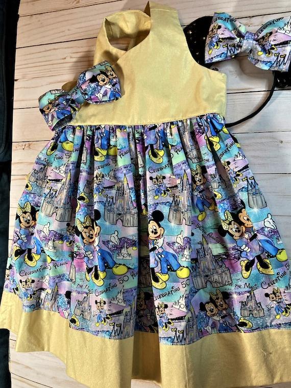 Disney Anniversary Dress, Party Dress, Disney World 50th Anniversary