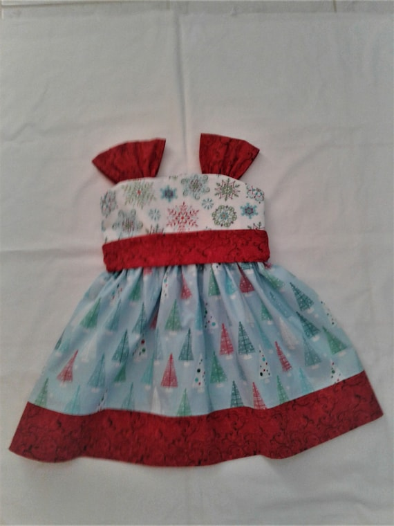 Christmas Dress, Girls Christmas outfit, Girls Holiday Dress,  Toddler Christmas Dress, Holiday Party Dress, Boutique Christmas,