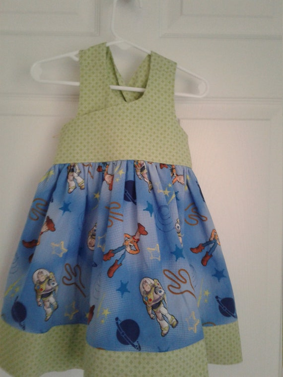Toy Story Dress,Girls Party Dress, Disney Parks, Disney Vacation,Baby Dress, Toddler Dress , Themed Birthday  Free Shipping