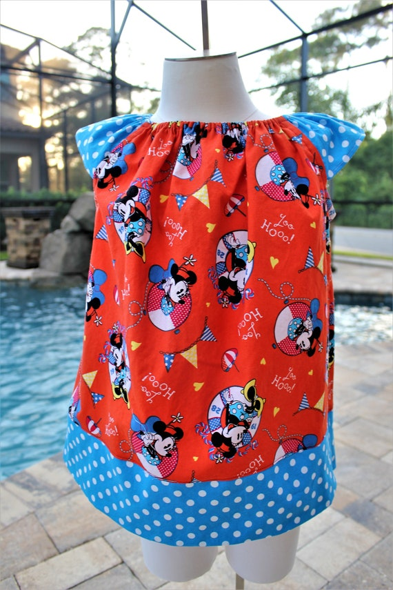 Disney Cruise Line Dress, Mickey Mouse, Disney Vacation,Toddler dress, Baby Dress,Free Shipping