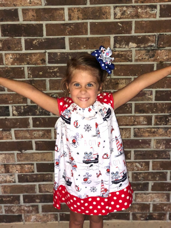 Custom Listing for Helen, Disney Cruise Line Dress, Mickey Mouse, Disney Vacation,Toddler dress, Baby Dress,Free Shipping