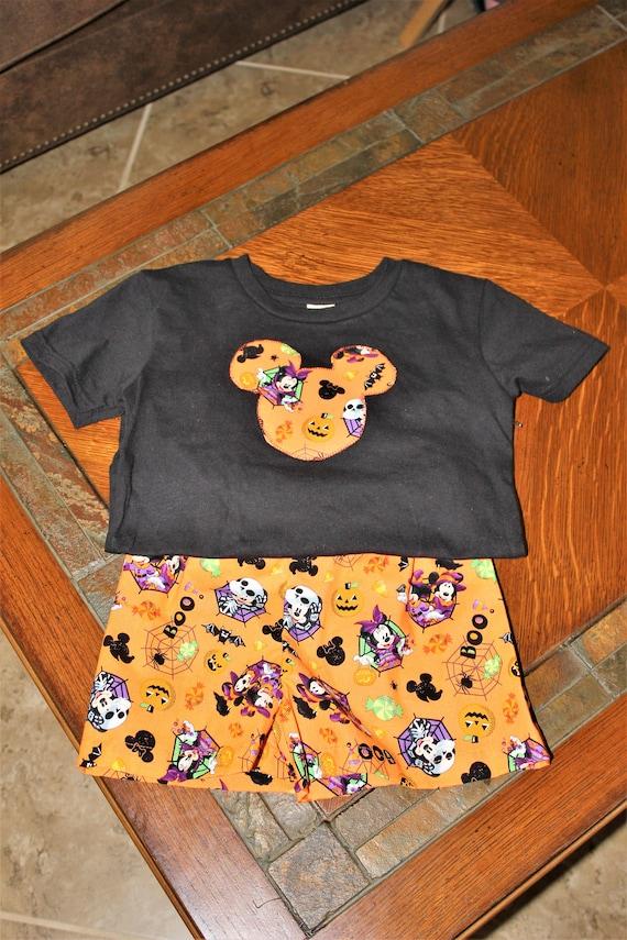 Boys Short set, Disney Halloween, Not So Scary Halloween, Unisex shorts set
